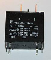 Реле электромеханическое  PCF-112D2M;  12VDC