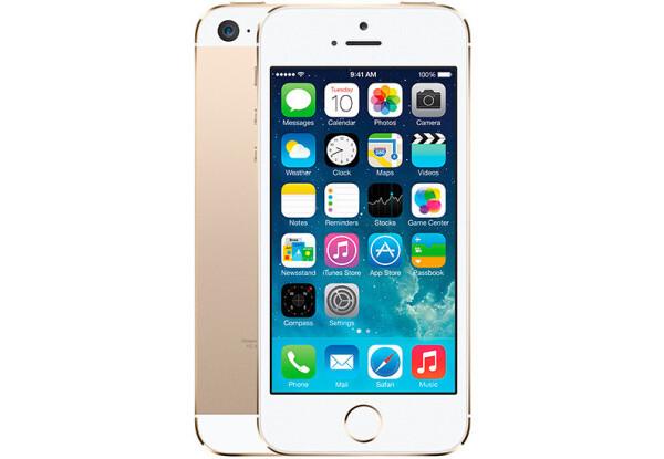 Смартфон Apple iPhone 5s 16Gb Gold Stock A-