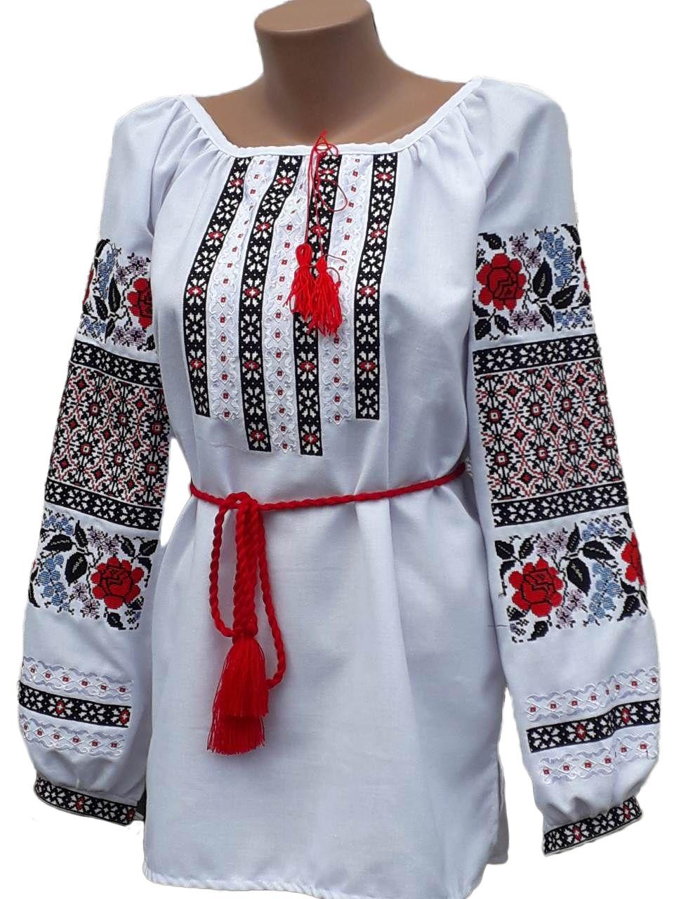 """Женская вышитая рубашка """"Молли"""" BN-0029"""