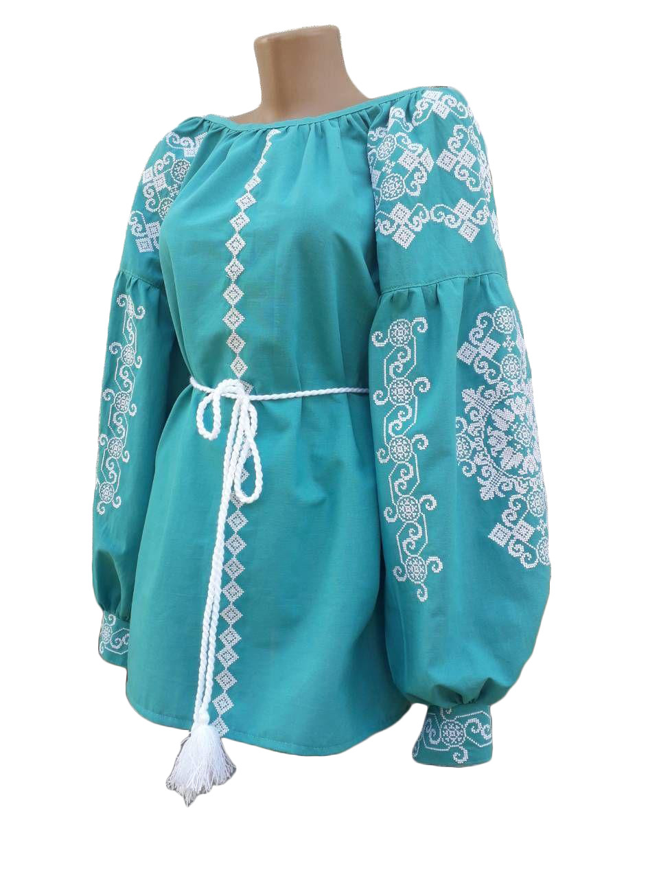 "Жіноча вишита сорочка (блузка) ""Наомі"" (Женская вышитая рубашка (блузка) ""Наоми"") BN-0029"