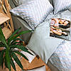 Постельное белье сатин жаккард Tiare (2006) евро 240х260 см, фото 4