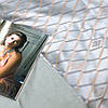 Постельное белье сатин жаккард Tiare (2006) евро 240х260 см, фото 5