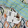 Постельное белье сатин Viluta (392) Полуторный 214х150 см, фото 5