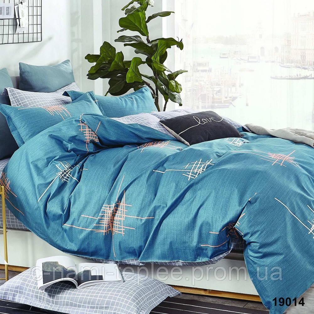 Постельное белье ранфорс Viluta (19014) двухспальный 220х200 см