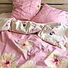 Постельное белье ранфорс Viluta (17175) двухспальный 220х200 см, фото 3