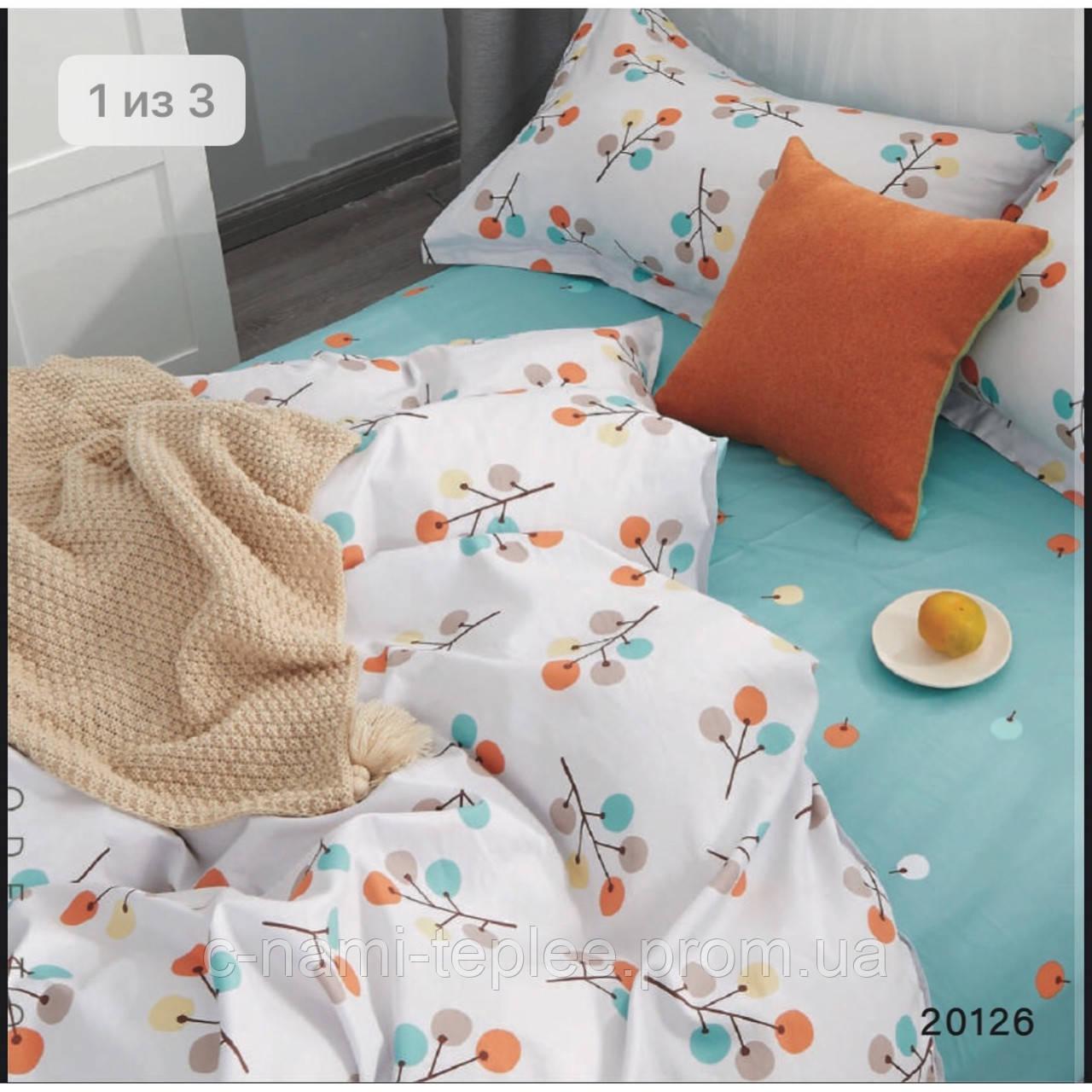 Постельное белье ранфорс Viluta (20126) двухспальный 220х200 см