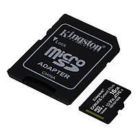 Карта пам'яті Kingston microSD 16 GB (К-16)