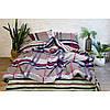 Постельное белье ранфорс Viluta (17113) двухспальный 220х200 см, фото 5