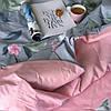 Постельное белье ранфорс Viluta (17175) двуспальный - евро 240х220 см, фото 3