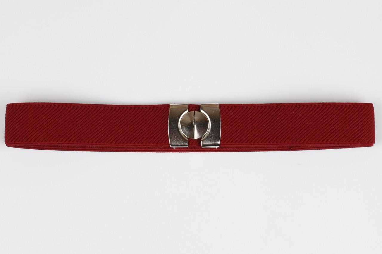 Ремень детский резинка P8 Top Gal бордовый цвета в ассортименте