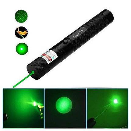 Лазерная указка Green Laser 303 | Зелёный лазер (Green laser pointer), фото 2