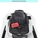 Дитячий електромобіль JE 1001 EBLR-1, BMW i8 Coupe, колеса EVA, шкіряне сидіння, білий, фото 6
