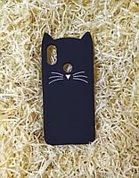 Силиконовый чехол Cat для Xiaomi Mi A2/ 6X, Черный