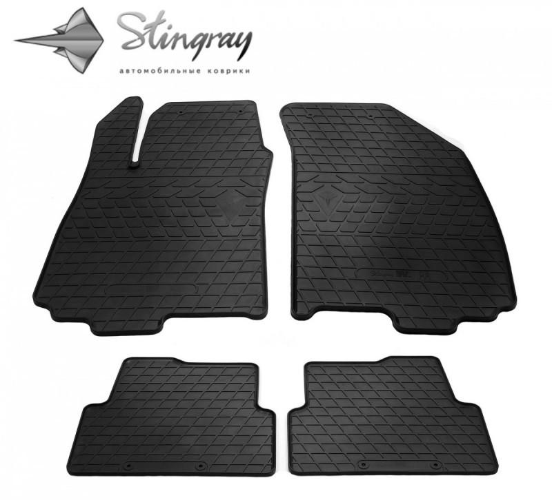 Коврики в салон Chevrolet Aveo (T300) 2011- / резиновые коврики Stingray
