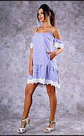 Летнее платье Poliit в наличии размер S.