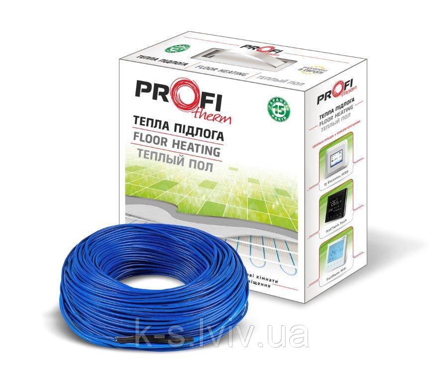 Двожильний нагрівальний кабель Профітерм (ProfiTherm)-2  19/1240 (площа обігріву 6,5-8,1 м²)