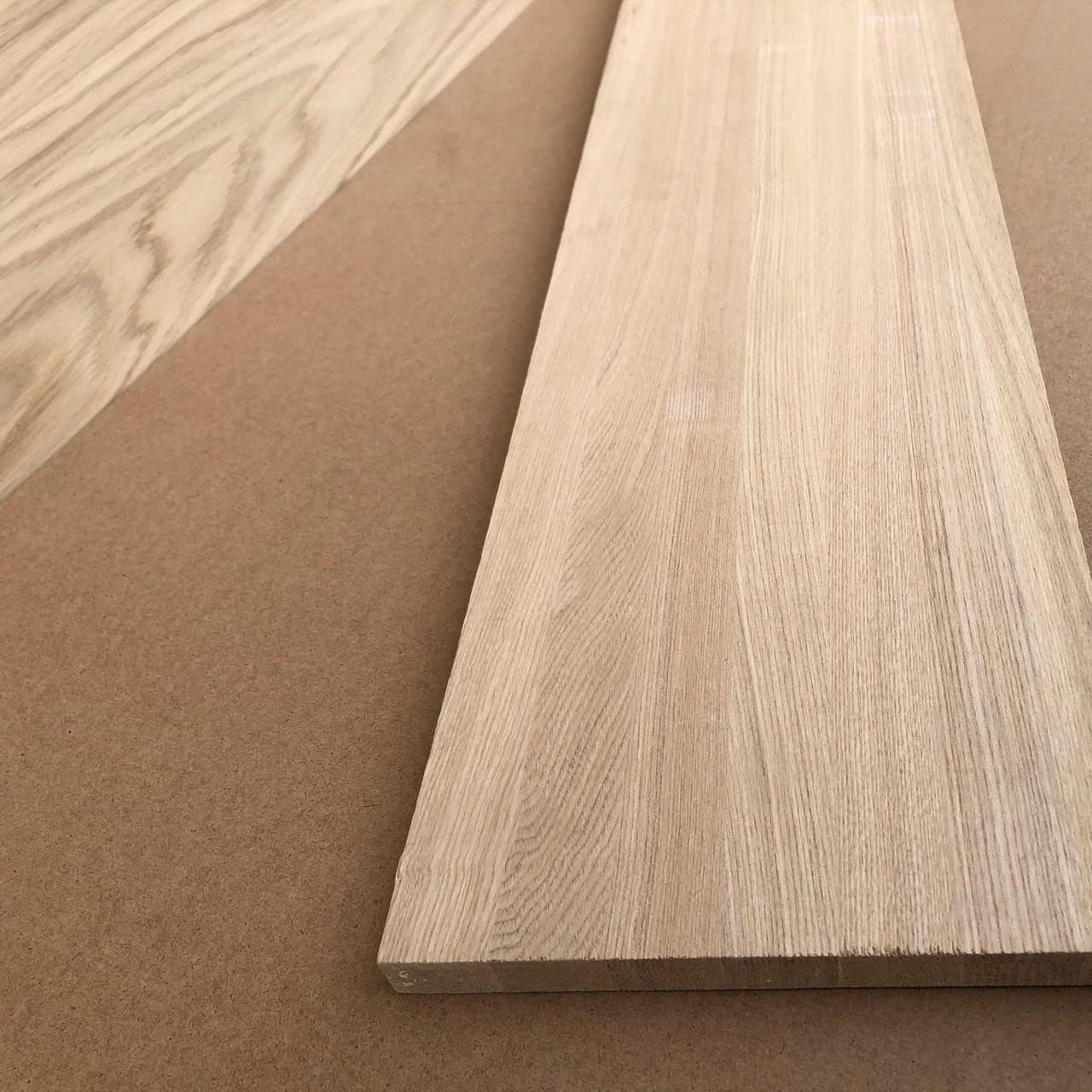 Мебельный щит ясень цельноламельный толщина 40 мм сорт А/A, A/C, B/C + порезка в любой размер бесплатно