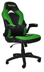 Кресло геймерское Bonro B-office 2 зеленое