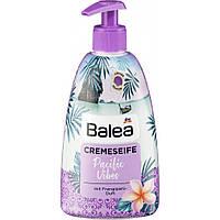 Мыло жидкое с дозатором Balea Creme Flüssigseife Pacific Vibes 500мл.