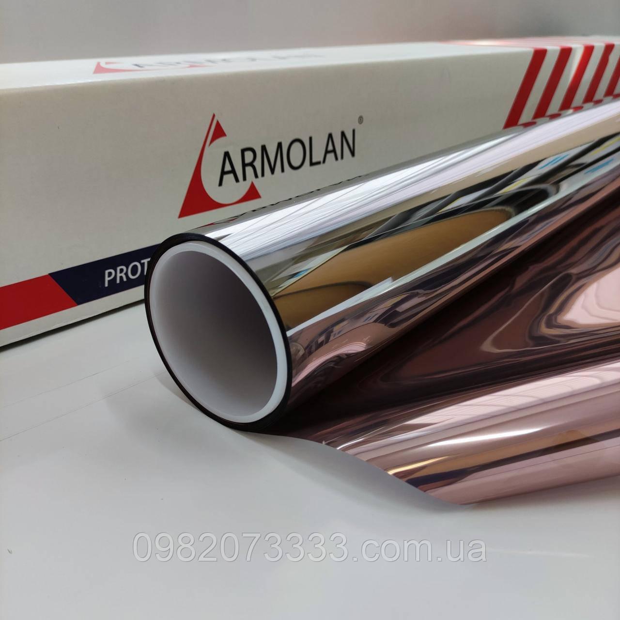 Тонировочная плёнка  Armolan R Bronze 15 зеркальная плёнка для тонировки окон ширина 1,524м
