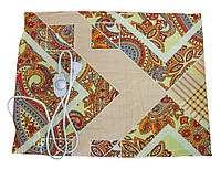 Електрогрілка чудесник Квіткова геометрія з регулятором температури 40х50 см, електрична грілка