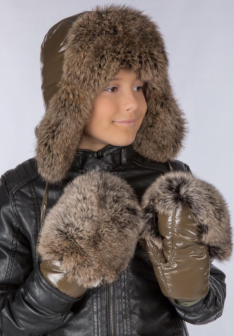 Детская шапка Для мальчиков Pl-8 Фиона Украина 56-58 см