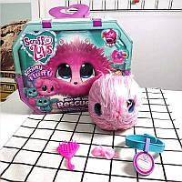 Няшка потеряшка пушистик детская интерактивная игрушка (ассортимент из трех цветов)