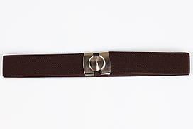 Ремінь дитячий гумка P8 Top Gal темно-коричневий кольори в асортименті
