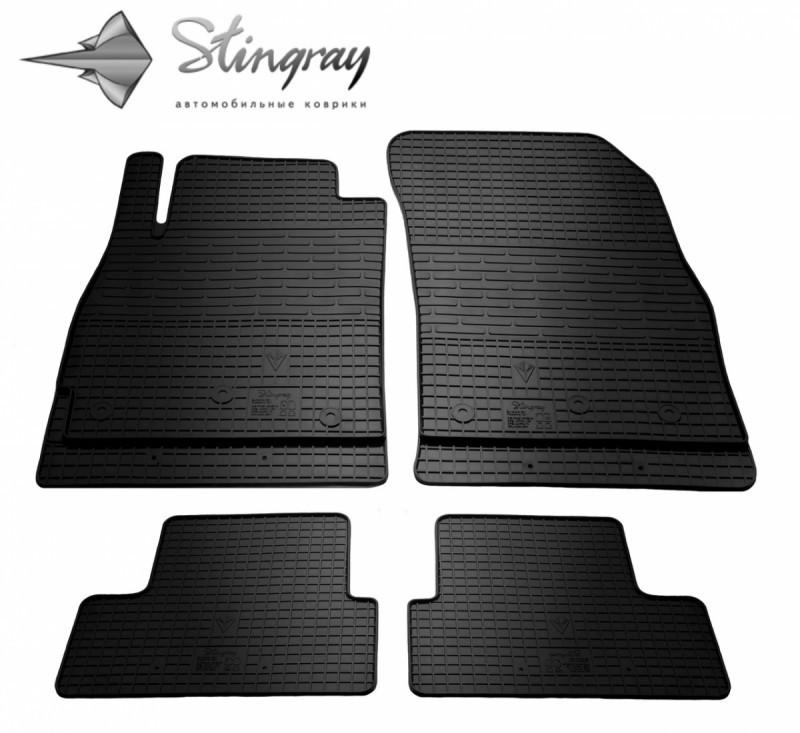 Коврики в салон Chevrolet Cruze 2016- / резиновые коврики Stingray