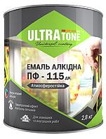 Эмаль алкидная ПФ-115 дк  «ULTRAtone» светло зеленая 2,8кг