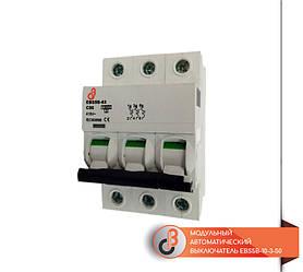Модульный автоматический выключатель EBS5B-10-3-50