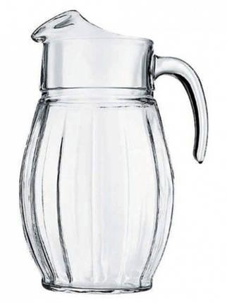 Кувшин стеклянный для холодных напитков 1.6л Pasabahce Dance 43374, фото 2