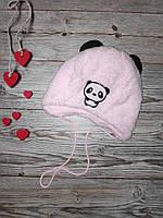 Теплая детская шапочка осень зима размер 42