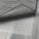 IKEA HODDE Ковер безворсовый, серый/черный (202.987.97), фото 2