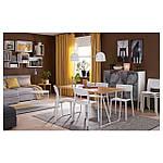 IKEA HODDE Ковер безворсовый, серый/черный (202.987.97), фото 8