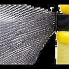 Батут Atleto 152 см с защитной сеткой жёлтый, фото 5