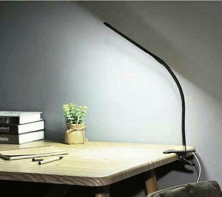 Настольная светодиодная лампа на прищепке XSD-206,  светодиодная настольная лампа