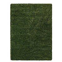IKEA VINDUM Ковер с длинным ворсом, зеленый (804.459.55)