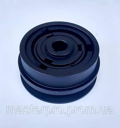 Відцентрове зчеплення 115 мм на вал 20 мм 1 - ремінь Б, фото 2
