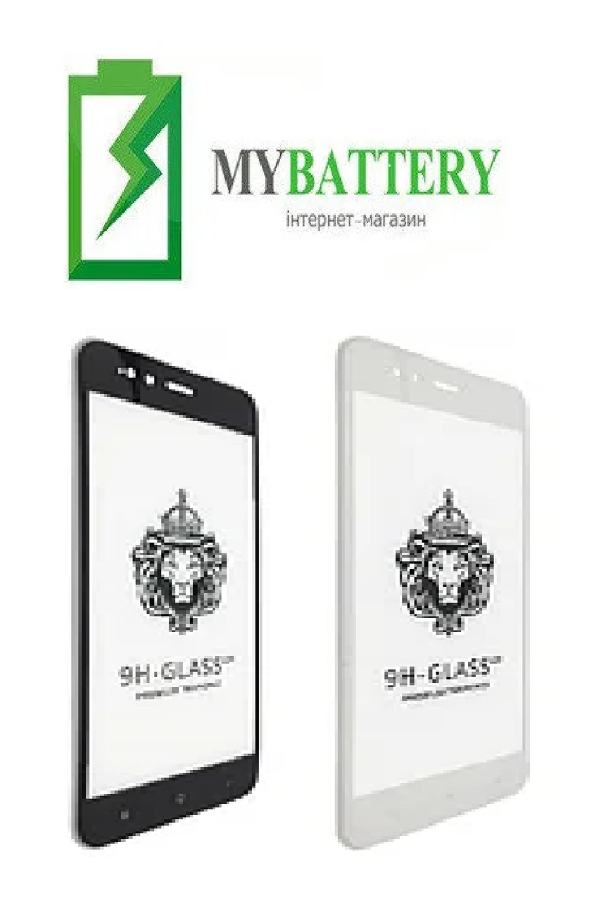 Защитное стекло Xiaomi Mi Max 3 Full Glue чёрное 2,5D 9H Full Glue