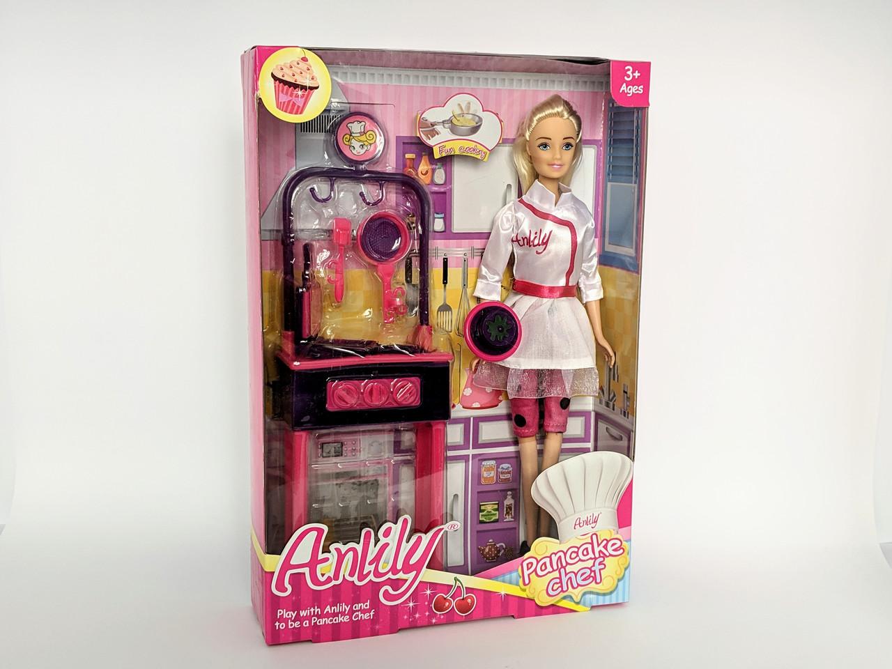 Кукла с печкой , Pancake Chef, Anlily