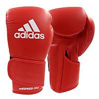 Боксерские перчатки Adidas Speed 501 Adispeed Strap up (красный, ADISBG501)