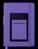 Блокнот деловой COMFORT А5 96л. чистый, иск. кожа, фото 2