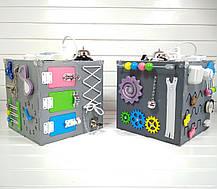 Развивающая игрушка бизикуб Busy Cube Tornado Серая, фото 3