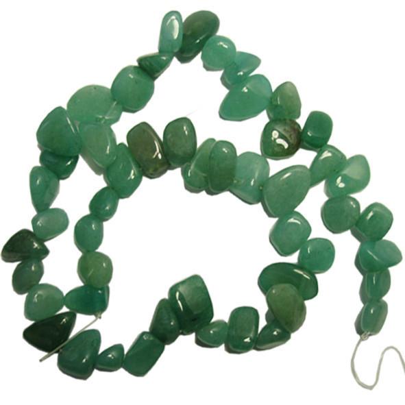 Сколы Нефрит Зеленый Крупный Размер 10-15*3-6 мм, Около 37 см нить, Бусины Натуральный Камень, Рукоделие