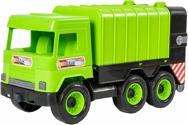 Самосвал Tigres Middle truck зеленый (39484), фото 2