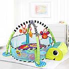 Детский развивающий коврик Черепаха 3 в 1, фото 2