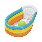 Ванночка надувная детская Bestway 76×48×33 см 51134, фото 2