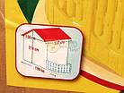Детский садовый домик Mochtoys 190×127×118 см зеленый с забором, фото 9