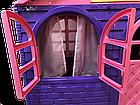 Домик-коттедж Doloni-Toys 256×129×120 см со шторками фиолетовый, фото 3